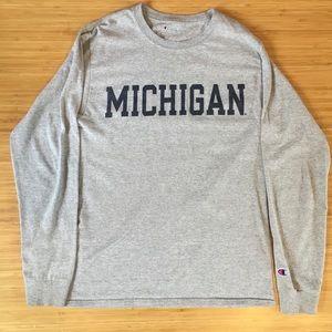 University of Michigan Champion Long Sleeve Size S